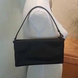 "Black Coach Handbag / Clutch, 9"" x 5"""